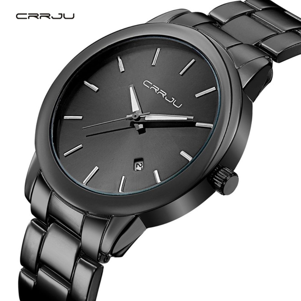 2016 New Arrivals High Quality Dress Watch CRRJU Luxury Brand Stainless Steel Watches Fashion Wrist Gift Watch Men Wristwatches 2016 new high quality women dress watch crrju luxury brand stainless steel watches fashion wrist gift watch men wristwatches