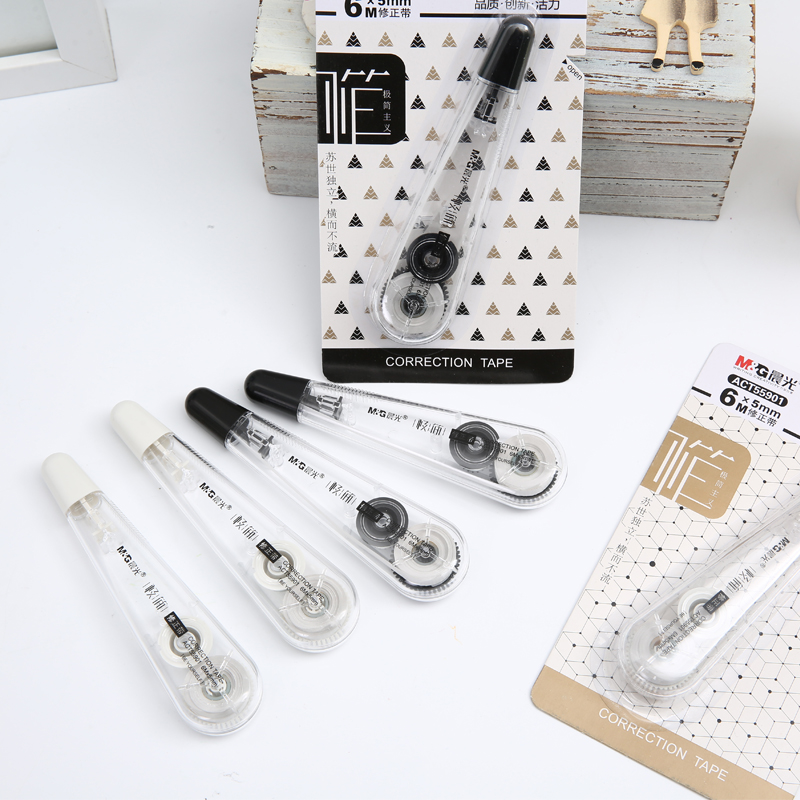 1PC M&G Stationery Students' Creative Minimalist 6 M Correction Tape Free Shipping