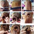 1PC Practice Hair Tools Roller Elegant Magic Style European Buns Curler Hair Accessories