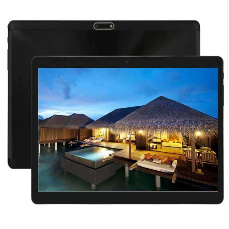 DHL Free 10 Inch Google Android Tablet Octa Core 4GB RAM 64GB ROM Dual Cameras 1280*800 IPS WIFI GPS 3g phone kids Tablets 10.1