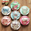 Ontinental European Tea Set Ceramic Coffee Cup Suit British Style High Grade Bone China Coffee Cup