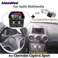 Liandlee для Chevrolet Captiva Sport 2008 ~ 2013 радиоприемник для Android стерео Carplay Камера BT GPS карта навигатор навигации Экран мультимедиа