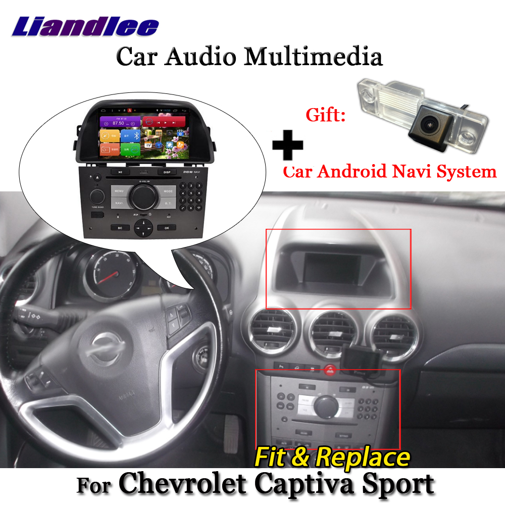 Liandlee For Chevrolet Captiva Sport 2008~2013 Android Radio Stereo Carplay Camera BT GPS Map Navi Navigation Screen Multimedia