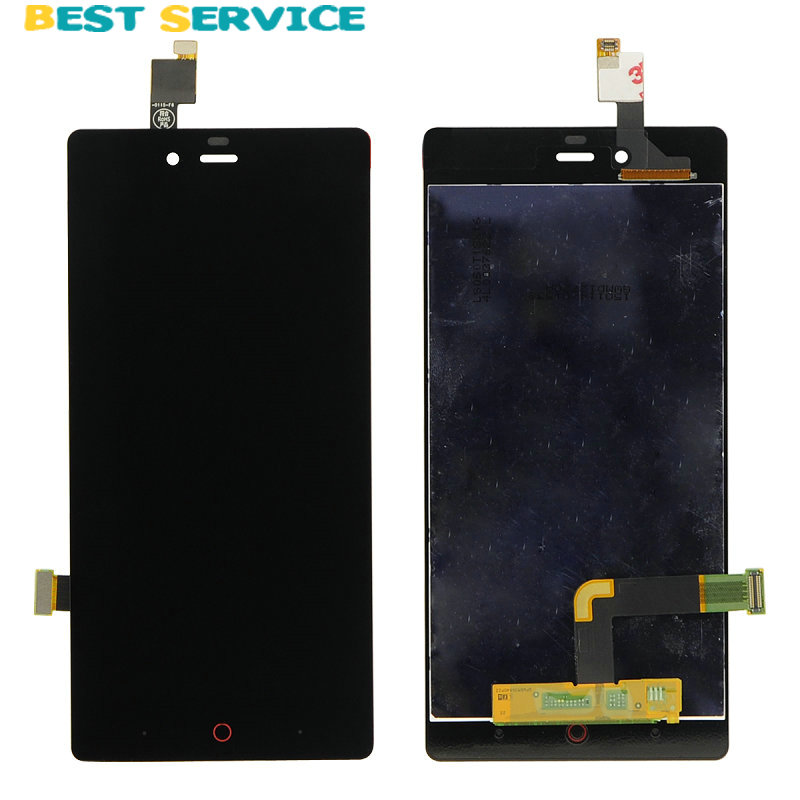 5.0 New For ZTE Nubia Z9 Mini NX511J LCD Display Touch Screen Digitizer Assembly Replacement Part