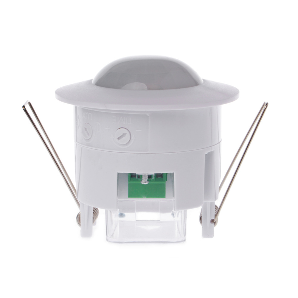 2017 New 110-240V AC  Adjustable 360 Degree Ceiling PIR Infrared Body Mini  Motion Sensor Detector Lamp Light Switch #1A40891#2017 New 110-240V AC  Adjustable 360 Degree Ceiling PIR Infrared Body Mini  Motion Sensor Detector Lamp Light Switch #1A40891#