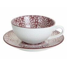 Ceramic Teacups and Saucer, Coffee cup & Saucer, Coffee Cups Tea Cup Saucers Set