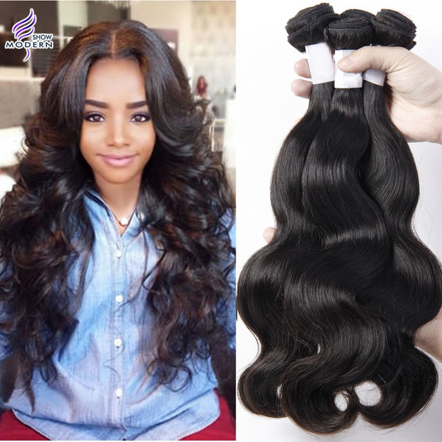 7a Modern Show Hair Brazilian Body Wave Virgin Hair 4 Bundles