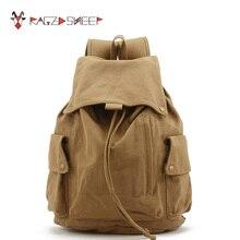 Бушевали овец Для женщин холст Винтаж рюкзак Обувь для девочек школьные рюкзак на шнурке подростков Обувь для девочек маленький Дорожные сумки