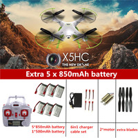 SYMA X5HC RC Drone With Camera Quadrocopter RC Helicopter SYMA X5C Upgrade Drones With Camera HD