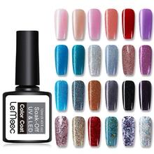 LEMOOC 12ml Glitter Sequins Gel Nail Polish Soak Off UV LED Manicure Varnish DIY Art Lacquer