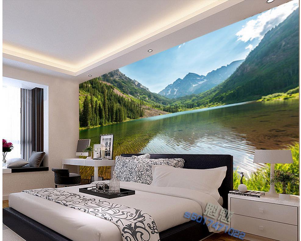 Papel pintado para paredes paisajes beibehang foto for Papel pintado paisajes