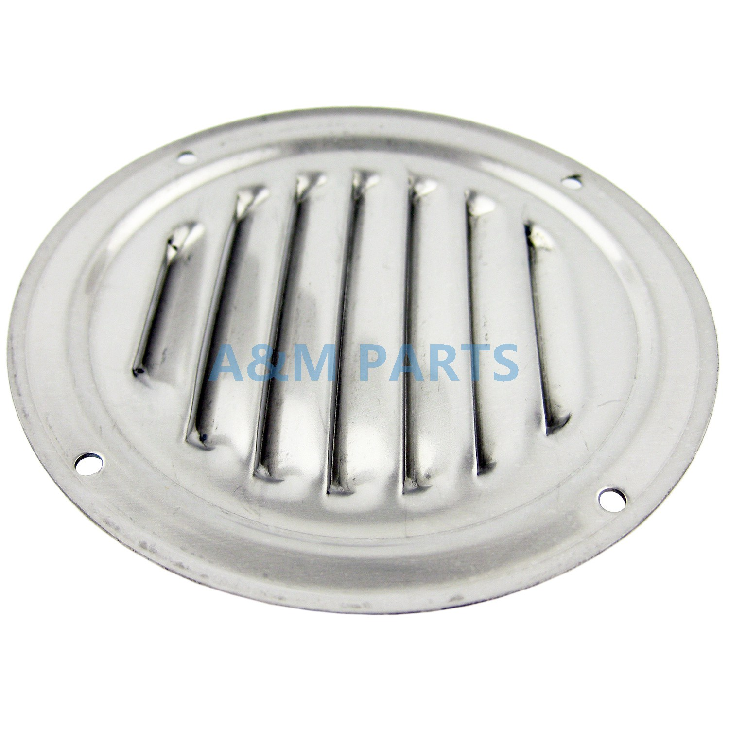 """4/"""" Stainless Steel Round Louvered Vent Marine Boat Vent 100mm Vent"""