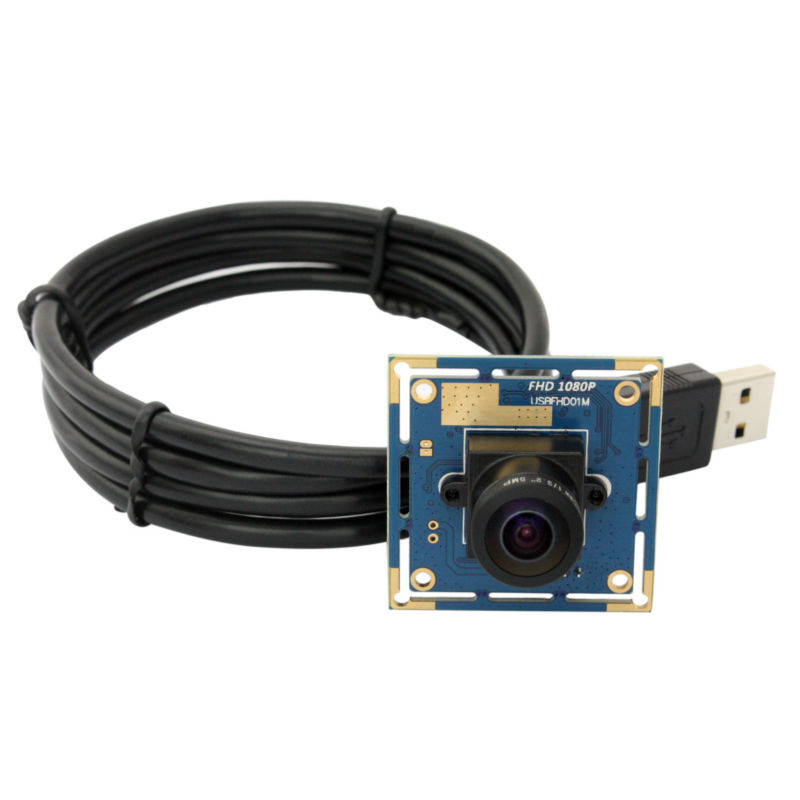 2MP CMOS OV2710 High 30/60/120 fps Industrial Mini 1.05mm Wide angle fisheye lens Webcam Full HD 1080P USB Camera Module Android elp high speed 2mp cmos ov2710 module wide view angle fisheye uvc android linux ir led board night vision hd usb camera 1080p