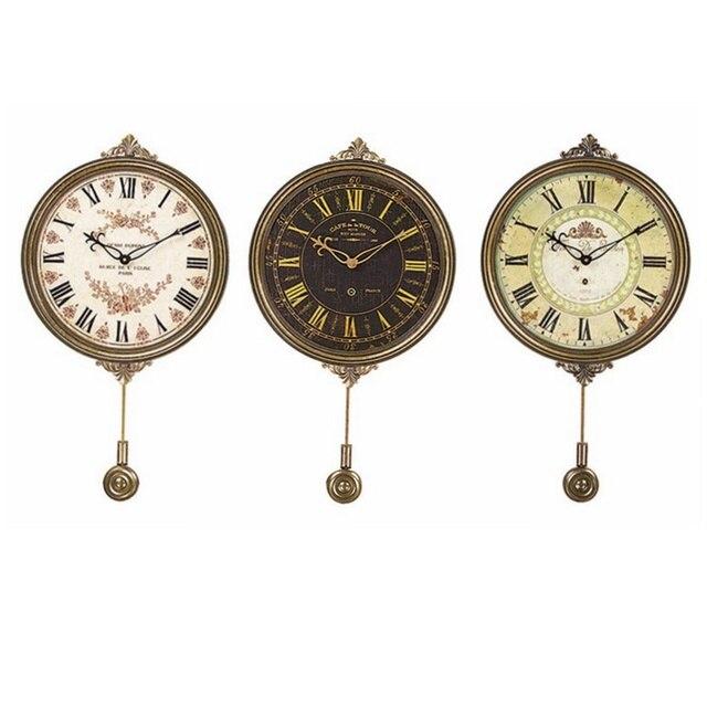 Wanduhr Hängen Uhr Mit Metall Pendel Wohnkultur Wohnzimmer Uhr