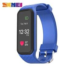 SKMEI L38I Hommes Femmes Coeur Taux Smart Bracelet Couleur Écran Podomètre Calories Sport Montres iOS Android Numérique Montres