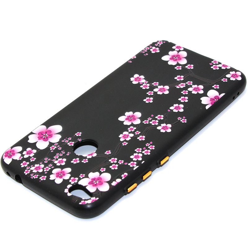 3D Relief flower silicone case huawei p8 lite 2017 honor 8 lite (19)