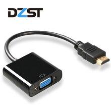 Dzlst HDMI конвертер VGA адаптер мужчин и женщин 3.5 мм аудио дополнительно для ПК компьютер Ноутбук Desktop к HDTV мониторы Дисплей