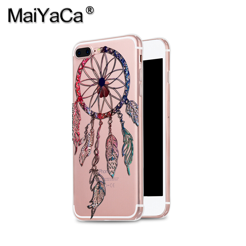 MaiYaCa 만다라 꽃 드림 캐처 TPU Soft 폰 Case 액세서리 - 휴대폰 액세서리 및 부품 - 사진 4