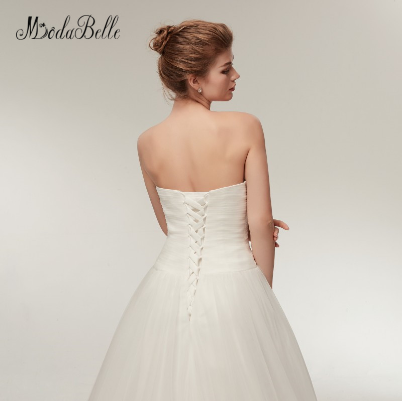 modabelle Sweetheart Summer Beach Wedding Dresses Simple A line ...