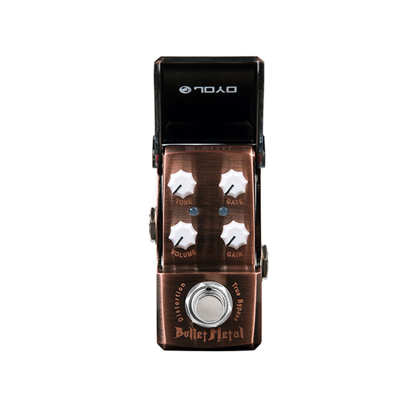 Joyo Ironman JF-321 Bullet Metal Distortion Guitar Effect Pedal True Bypass охватывающие наушники audio technica ath avc200 black