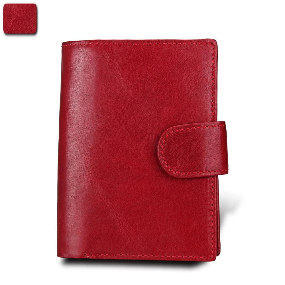 Fashion Women Passport Wallet Men Genuine Leather Travel Passport Cover Case Document Credit Card Holder Coin Purse image