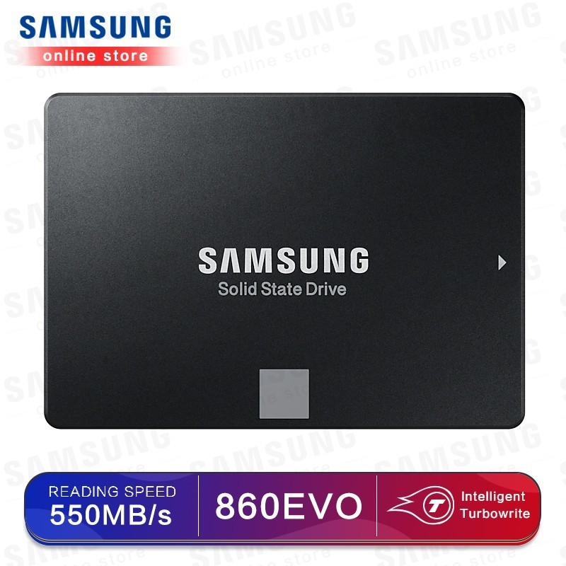 SSD SAMSUNG 860 EVO 250 GB HDD unidade de Disco Rígido Interna de 500GB Solid State Disk SATA3 2.5 polegada Laptop Desktop PC disco duro TLC 250 GB