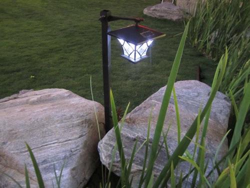 Hight 1.5M Solar Powered Panel LED Spot Light Landscape Outdoor Garden Path Lawn Courtyard Decoration Luminaria Lampada Solar