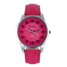 2018 Nova Criativo lazer Relógio De Quartzo Das Mulheres Top Marca de Luxo Relógios De Couro Relógio de Pulso Esporte Reloj Mujer relogio feminino