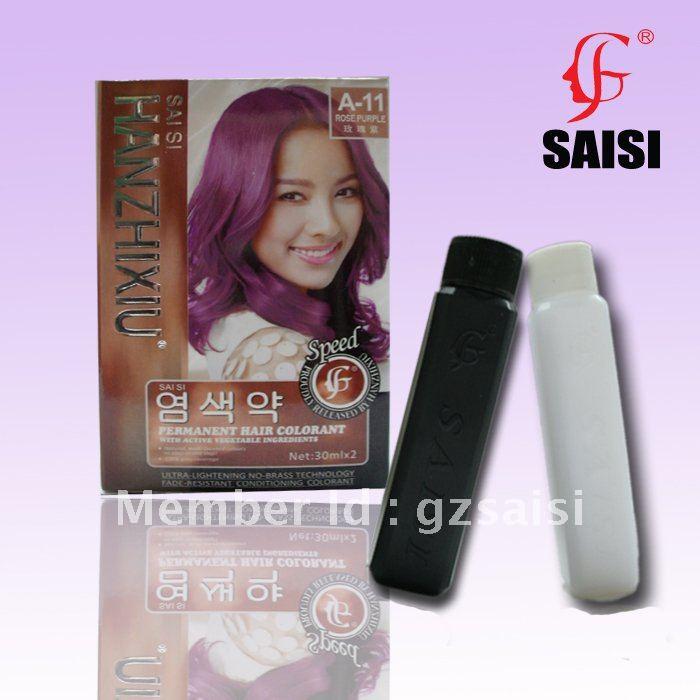 Aliexpress Buy Rose Purple 30mlx2 Permanet Hair Color Dye With