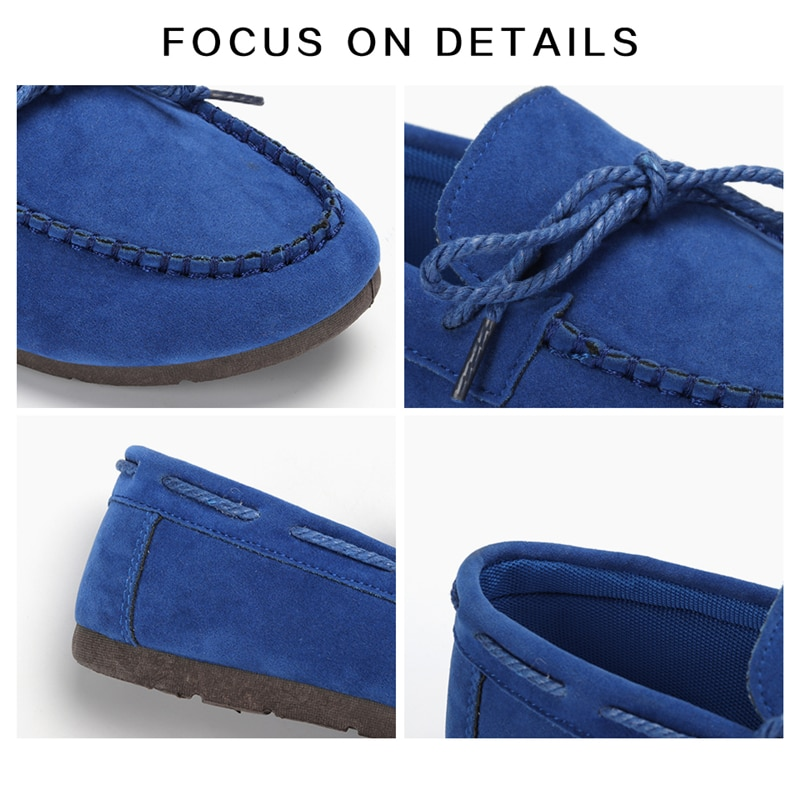 Moccasin womens four colors autumn soft brand top quality fashion suede casual loafers #WX810401 74