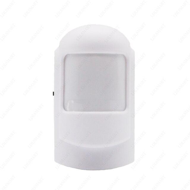 Nice Draadloze PIR Bewegingssensor Kosten Voor Alarmsysteem PIR Detector Voor  Thuis Alarm Beveiligingssysteem 433 MHZ