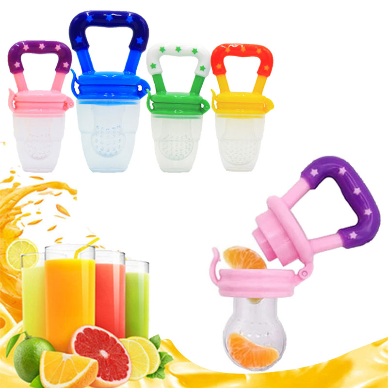 Infant Food Nipple Feeder Silicone Pacifier Fruits Feeding Supplies Soother Nipples Soft Feeding Tool Pacifier Silicone Kids