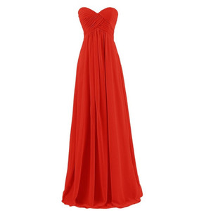 Image 5 - QNZL#Ball Gown Strapless Plus Size Pink Burgundy Long Bridesmaids Dresses Wedding Party Prom Gown Dress Wholesale Free Custom