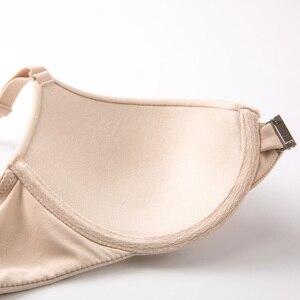 Image 5 - Sujetador con cierre frontal, con aros, cobertura completa, de espuma suave para mujer