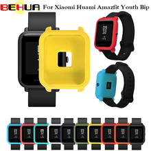 Smart Accessories Protector Frame Colorful Case Cover Shell for xiaomi Huami amazfit bip Pace Youth Watch Soft Silicone Frame watch frame amazfit bip youth smart watch protector case slim colorful frame pc case cover protect shell for xiaomi huami