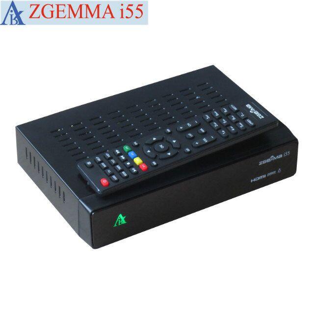 2pcs/lot  2017 New Hot On Sale- Worldwide Internet IPTV Box ZGEMMA i55 Powerful CPU Linux OS E2 Full HD 1080P USB WiFi Player 10pcs zgemma star i55 support satip iptv box bcm7362 dual core mainchipset 2000 dmips cpu linux enigma 2 hdmi connection