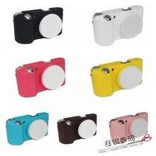 Мягкий чехол из силикона и резины Камера тела защитный чехол кожаный чехол для samsung NX500 беззеркальных Системы Камера