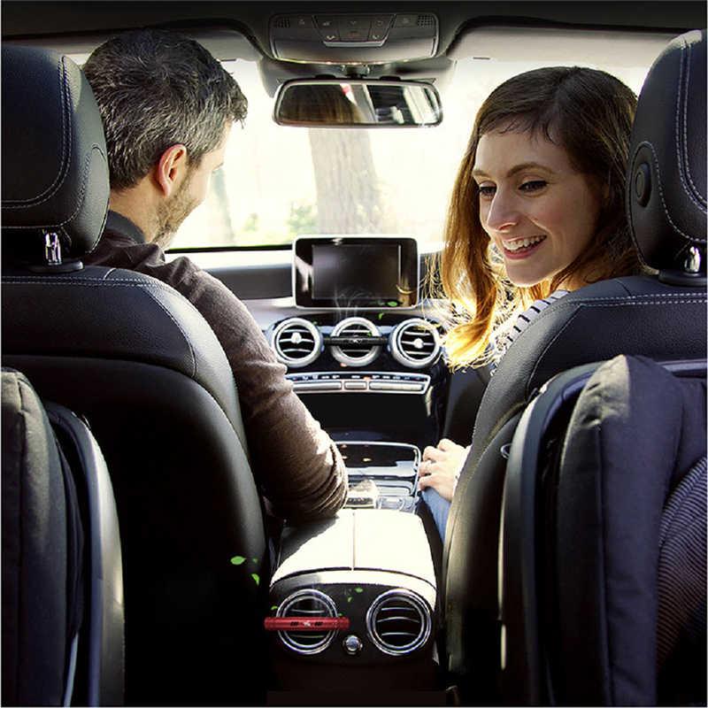 معطّر الهواء للسيارات منفذ عطر تنفيس معطّر الهواء في السيارة تكييف الهواء كليب المغناطيس الناشر العطور الصلبة اكسسوارات