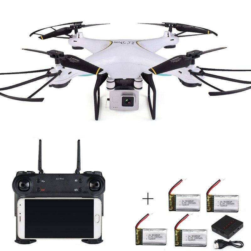 Rc Drone Avec Caméra Fpv Quadcopter Retour Automatique Rc Hélicoptère Télécommande Jouets Pour Enfants Wifi Selfie Drone Quadrocopter