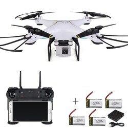 Zangão Rc Com Câmera Fpv Quadcopter Auto Return Rc Helicóptero Brinquedos de Controle Remoto Para As Crianças Wi-fi Zangão Quadrocopter Selfie