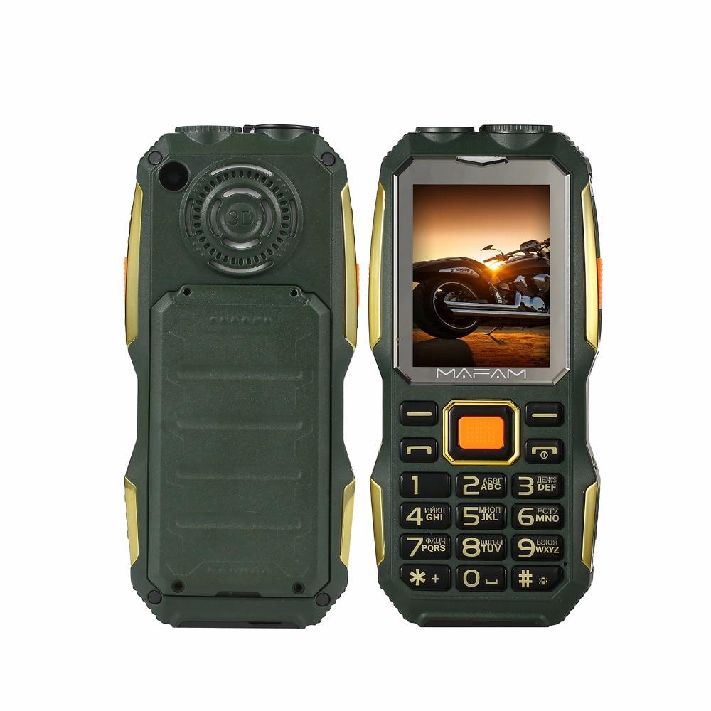 MAFAM M2 Ruso Árabe 4000mAh Tarjetas Dual SIM UHF Walkie Talkie - Teléfonos móviles - foto 3