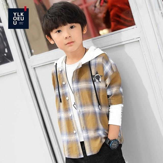 Los niños de calidad superior muchacho de polo camisa del uniforme escolar niños  camiseta manga larga adb454af4c6b7