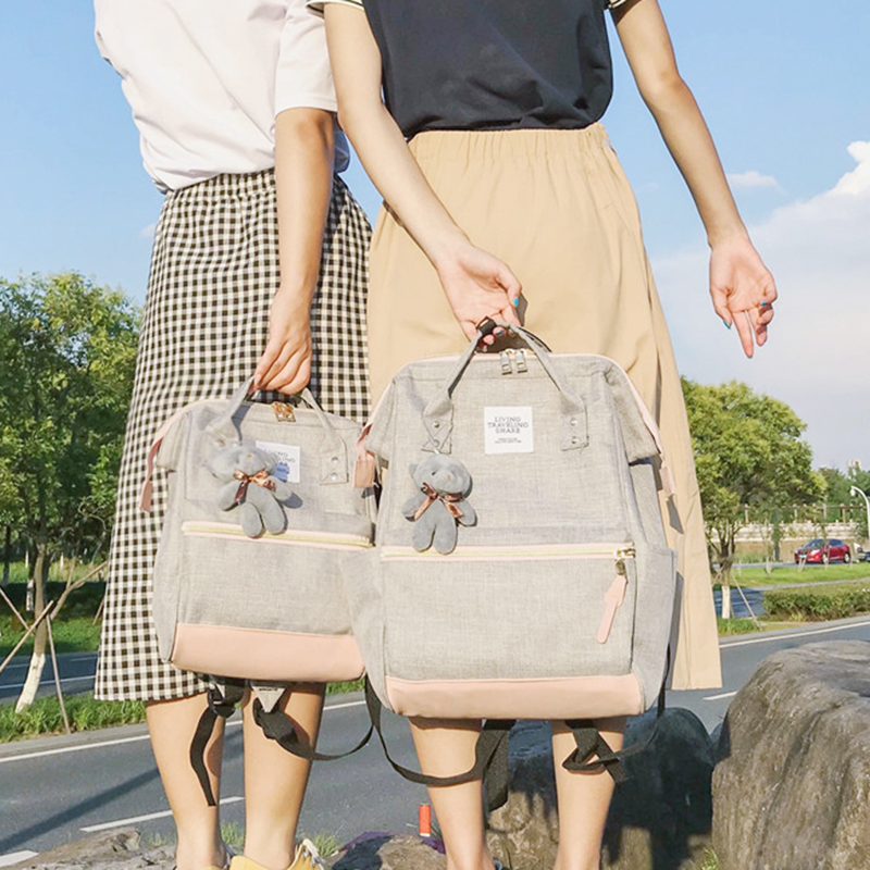 401aa7120 New Korean Girls School Backpack Fashion Girl Travel Bags Mochila Feminina  Escolar Bagpack Mini Backpack Women Kanken Backpack