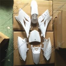 Белый пластмассовый защитный обтекатель крыло комплект TTR50 стиль 50cc 70cc PIT PRO Dirt Bike