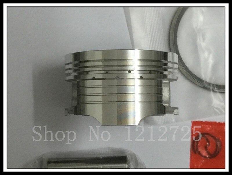 Motosiklet pistonu və üzük CG150 (62MM), bir piston pinli 13mm - Motosiklet aksesuarları və ehtiyat hissələri - Fotoqrafiya 3