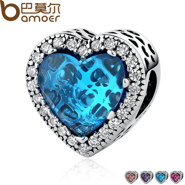 Sterling Silver Jewelry Radiant Hearts Beads Charm