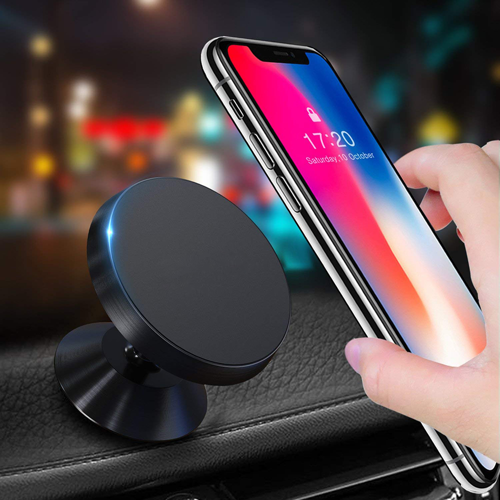 Magnetic Air Vent Mount Mobile Smartphone Stand Magnet Car Phone Holder Support For iphone 7 xiaomi mi6 mi8 8SE phone holder smartphone