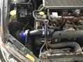 Para Subaru Legacy 3.0 2004-2006 Buena Calidad EDDYSTAR CF-A Fibra de Carbono Sistema de Admisión de Aire Frío Del Filtro De Aire caucho