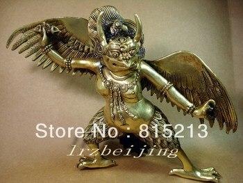 wang 000153 Tibet Buddhism Bronze sacred Buddha Statue