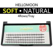 individual lashes eyelashes 0.1 C curl false eyelash extension 8 9 10 11 12mm lashes  makeup individual lashes